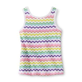 Glr 333 Backbow Top wonderkids infant toddler s bow back tank top wavy stripe clothing baby clothing