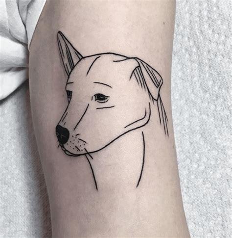 dog outline tattoo totoro tattoogrid net