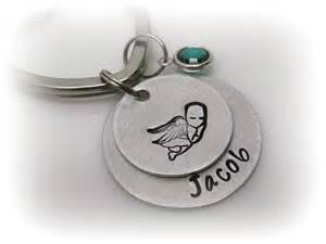 remembrance keychain personalized memorial key chain custom keychain by tkidesigns