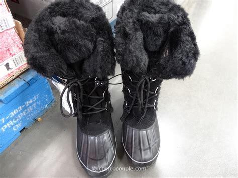 boots costco khombu ladies nordic boots
