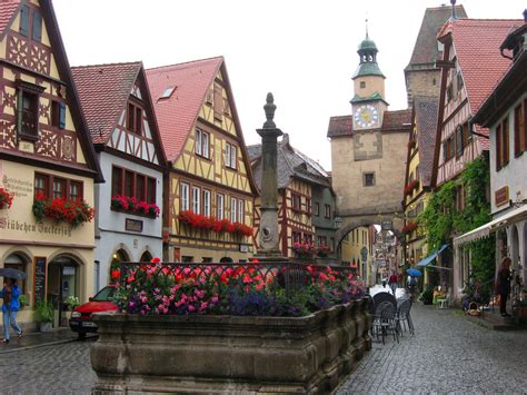 in germany rothenburg ob der tauber in germany thousand