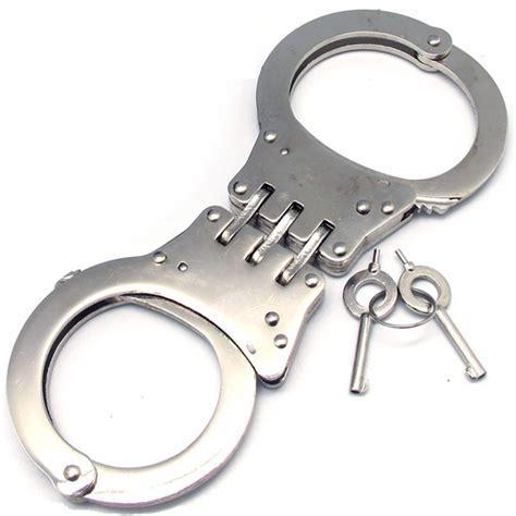 hinged handcuff fury tactical lock steel hinged handcuffs