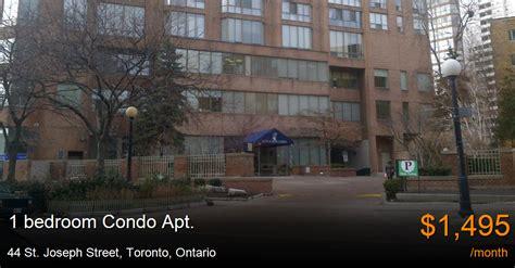 St Joseph S Detox Toronto by 44 St Joseph Toronto Condo Apt For Rent B15896