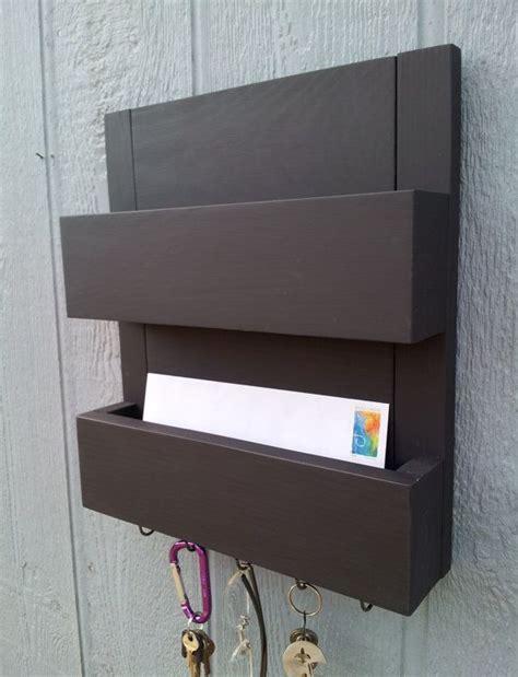 2 pocket mail and key rack mail organizer mail holder