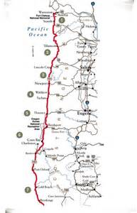 map of oregon coast cities the pacific coast scenic byway an oregon scenic byway