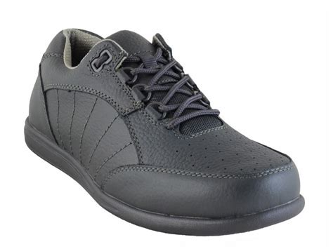 pro sports grey lawn bowling shoes grey leather