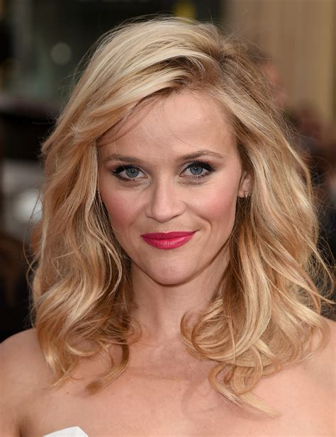 hairstyles with bangs reese witherspoon reese witherspoon medium length hairstyles with bangs