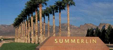 One Floor Home Plans by Summerlin New Home Community Las Vegas Nevada Lennar