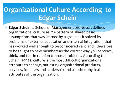 which pattern of organization is most appropriate in a good summary organizational culture presentation by jenrap14