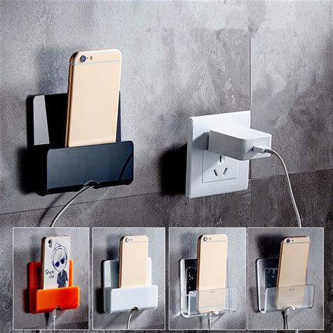 Holder Wall Charging by Wall Charging Holder Adhesive Phone Stand Durable Charger