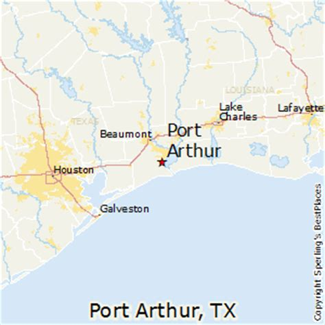 map of port arthur texas best places to live in port arthur texas