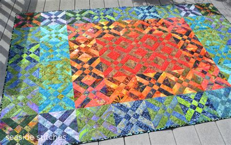 how to make an easy quilt that looks complicated