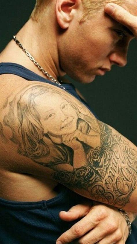 eminem tattoos eminem hailie www pixshark images galleries