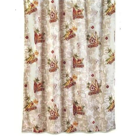themed shower curtains studebaker collection hawaiian surf board themed shower