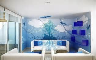 Wall Decor Ideas For Small Living Room by Decorative Wall Painting Techniques Home Furniture