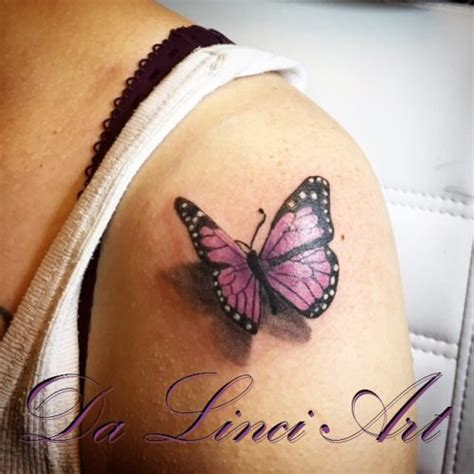 vlinder tattoos da linci art