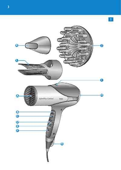 Philips Hair Dryer Disassembly philips hp4980 hair dryer manual for free now