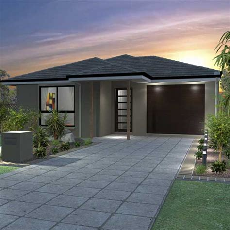 10m frontage house designs single storey house plans designs pj burns builders