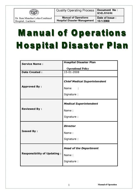 Hospital Disaster Recovery Plan Template best photos of disaster plan exle sle disaster recovery plan template sle disaster