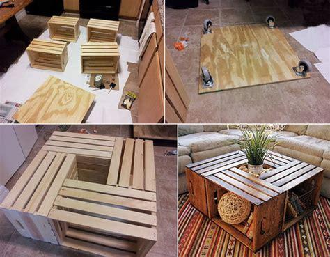 diy ideas  milk crates  wooden crates hative