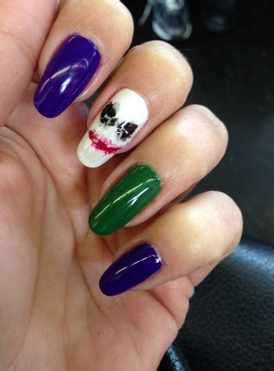 Joker Nail Designs