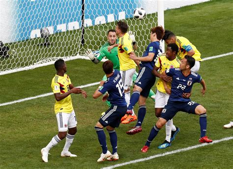 coupe du monde 2018 football coupe du monde 2018 les buts et r 233 sum 233 de colombie japon