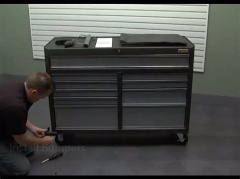 gladiator cabinet installation gladiator installation 52 quot roll away tool chest