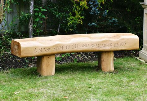 oak memorial benches oak memorial bench martin cook studio