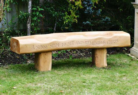 benches com oak memorial bench martin cook studio