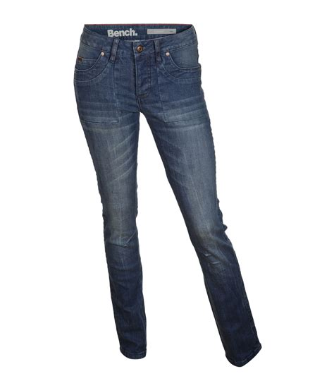 mens bench jeans bench danny skinny fit jeans in blue for men denim rinse