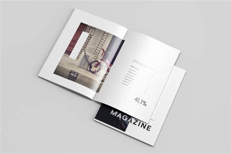 magazine mockup template free letter size magazine mockup free design resources