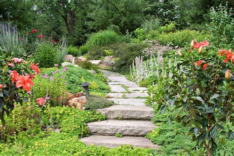 the backyard gardener cottage garden private residence leaf mortar
