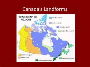 us and canada landform map geography220 unit 3