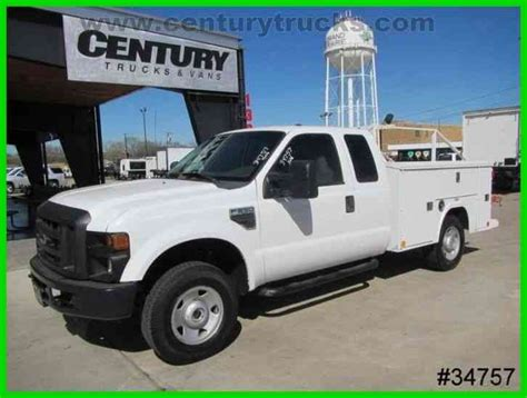bed stuy cab service ford f250 4x4 supercab service truck 2009 utility