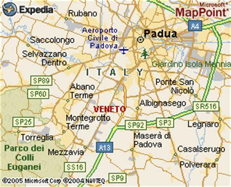 padua map padua map and padua satellite image