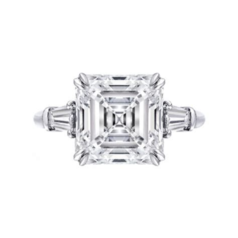 estate harry winston 5 24 carat emerald cut