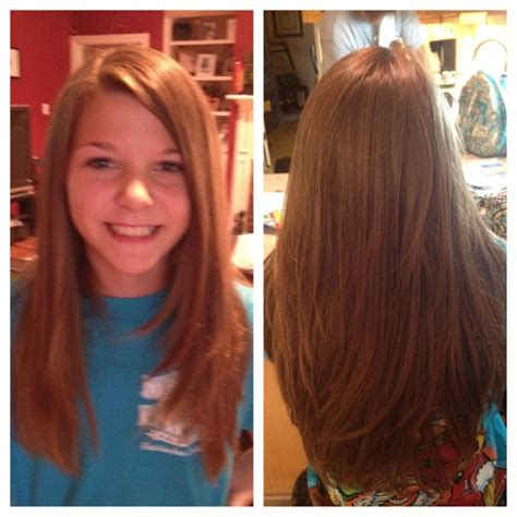 layered straight for teenage girls hairstyles ideas great tween layered hairstyle for long hair shelley best