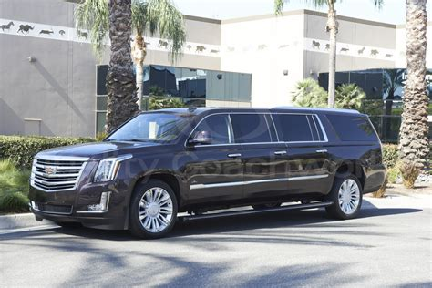 Escalade Limousine by New 2017 Cadillac Escalade Esv For Sale Ws 10528 We