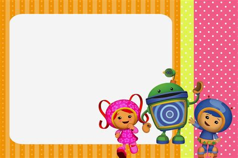 printable umizoomi invitations umizoomi free party printables images and invitations