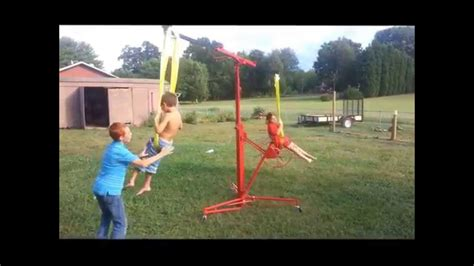 Backyard Rides by Easy Diy Children S Backyard Carnival Swing Ride