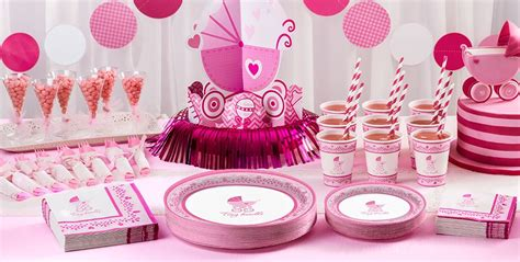 Partycity Baby Shower by Pink Stroller Baby Shower Supplies City Canada