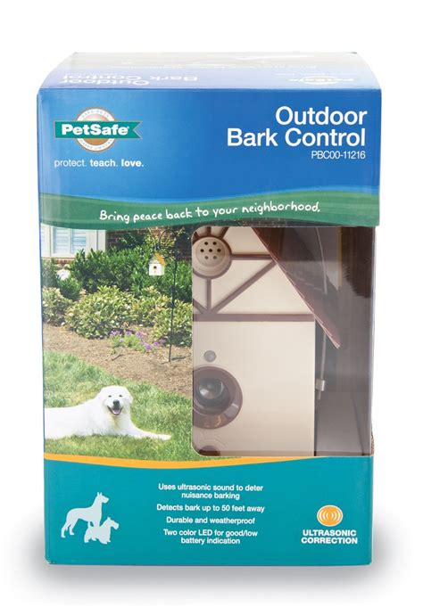 dog bark house petsafe outdoor dog bark control bird house correction no barking ebay