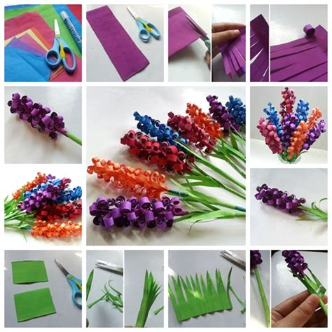 How To Make Paper Flowers Step By Step With Pictures - wonderful diy swirly paper flowers
