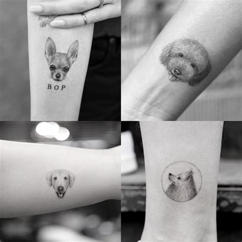 jonboy tattoo cost micro pet portrait tattoos by sanghyuk ko nyc mr k tats