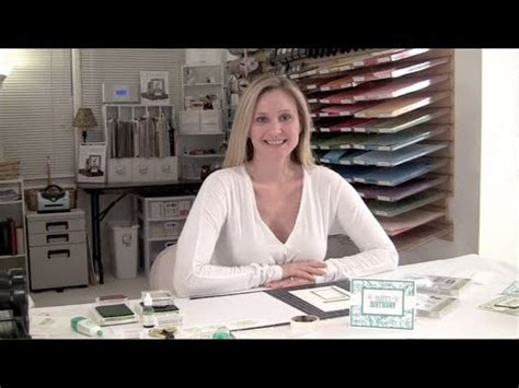 carding tutorial video stippled blossom card video tutorial featuring stin