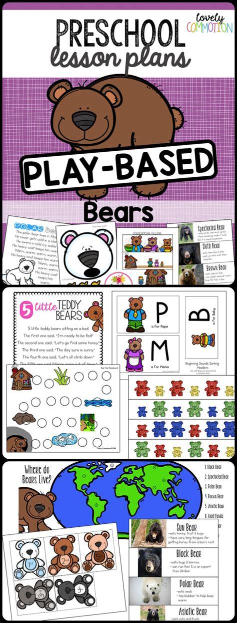 kindergarten themes and units 121 best teddy bear preschool theme images on pinterest