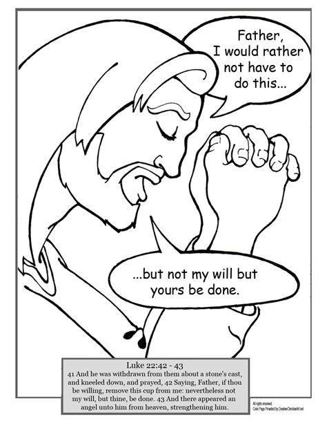 coloring pictures of jesus praying coloring pages of jesus praying the art jinni
