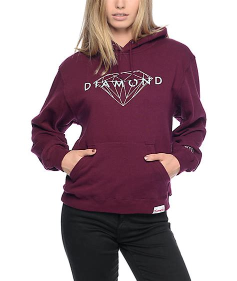 Kaos Supply Co Dmnd Maroon sweaters zumiez