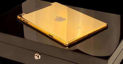 novos ipads ganham versoes de luxo  acabamento em ouro  preco alto noticias techtudo