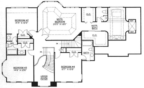 home plan homepw11372 2996 square foot 5 bedroom 4 colonial style house plan 4 beds 3 50 baths 2996 sq ft